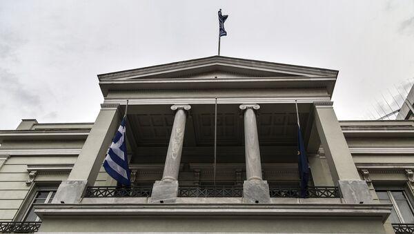 Η πρόσοψη του κτιρίου του ελληνικού υπουργείου Εξωτερικών - Sputnik Ελλάδα