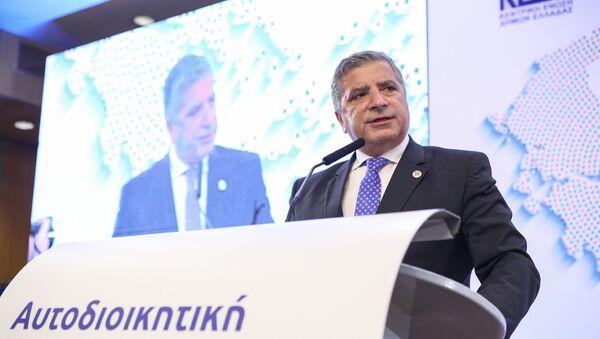 Ο πρόεδρος της ΚΕΔΕ Γιώργος Πατούλης - Sputnik Ελλάδα