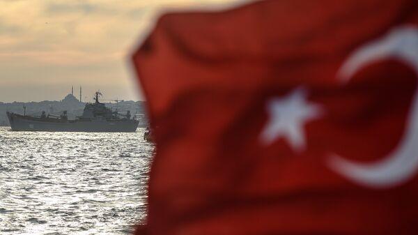 Σημαία της Τουρκίας - Sputnik Ελλάδα