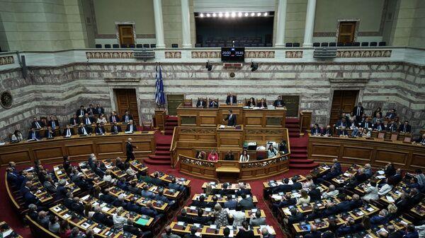 Ολομέλεια της Βουλής - Sputnik Ελλάδα