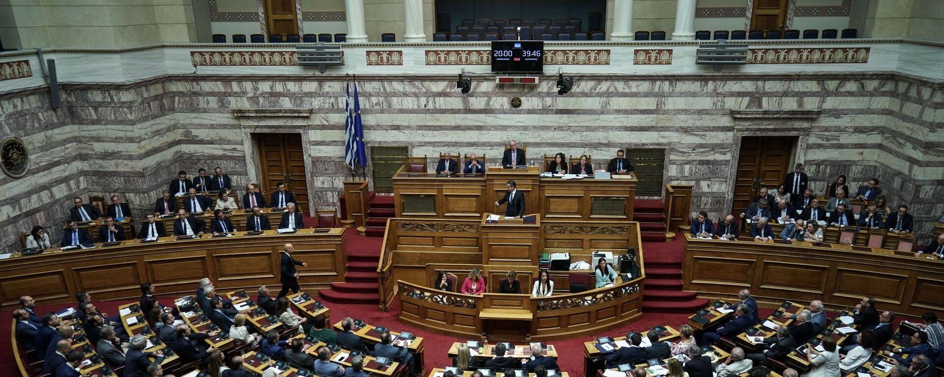 Ολομέλεια της Βουλής - Sputnik Ελλάδα, 1920, 07.10.2021