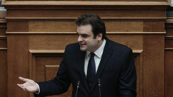 Ο υπουργός Επικρατείας και Ψηφιακής Διακυβέρνησης, Κυριάκος Πιερρακάκης - Sputnik Ελλάδα