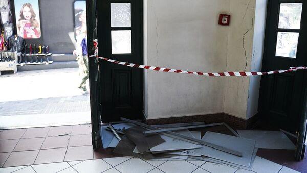 Σεισμός στην Αθήνα - Sputnik Ελλάδα