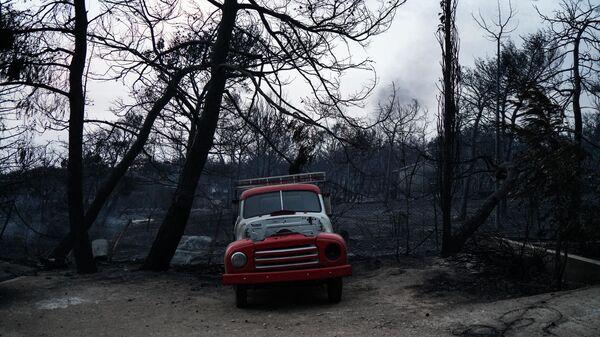 Πυρκαγιά στο Μάτι - Τότε και τώρα (2018) - Sputnik Ελλάδα