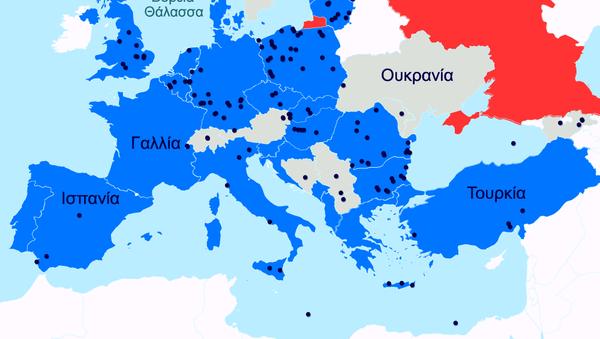 Στρατιωτικές εγκαταστάσεις κρατών-μελών του ΝΑΤΟ στην Ευρώπη - Sputnik Ελλάδα