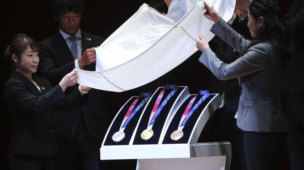 Τα μετάλλια των Ολυμπιακών Αγώνων του Τόκιο του 2020 - Sputnik Ελλάδα