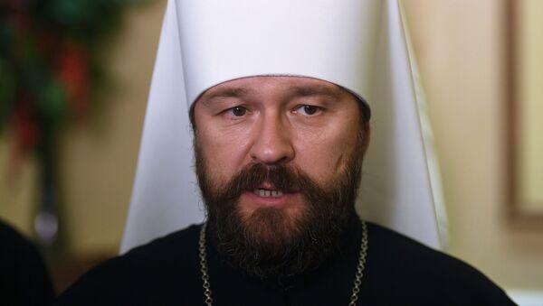 Μητροπολίτης Βολοκολάμσκ, Πρόεδρος του Τμήματος Εξωτερικών Εκκλησιαστικών Σχέσεων του Πατριαρχείου Μόσχας, Ιλαρίων - Sputnik Ελλάδα