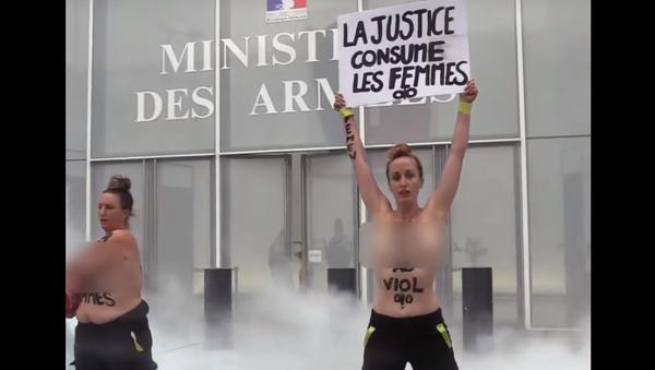 Διαμαρτυρία των FEMEN - Sputnik Ελλάδα