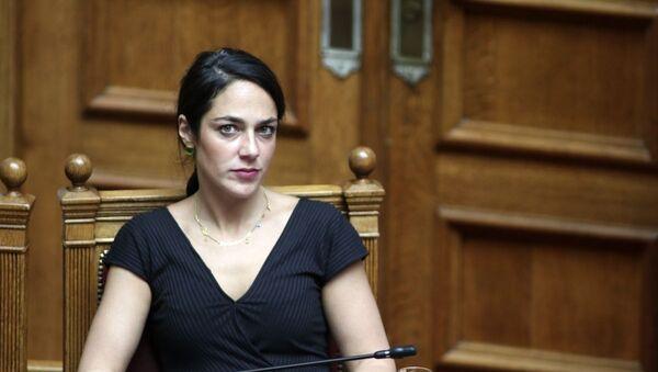 Η Δόμνα Μιχαηλίδου - Sputnik Ελλάδα