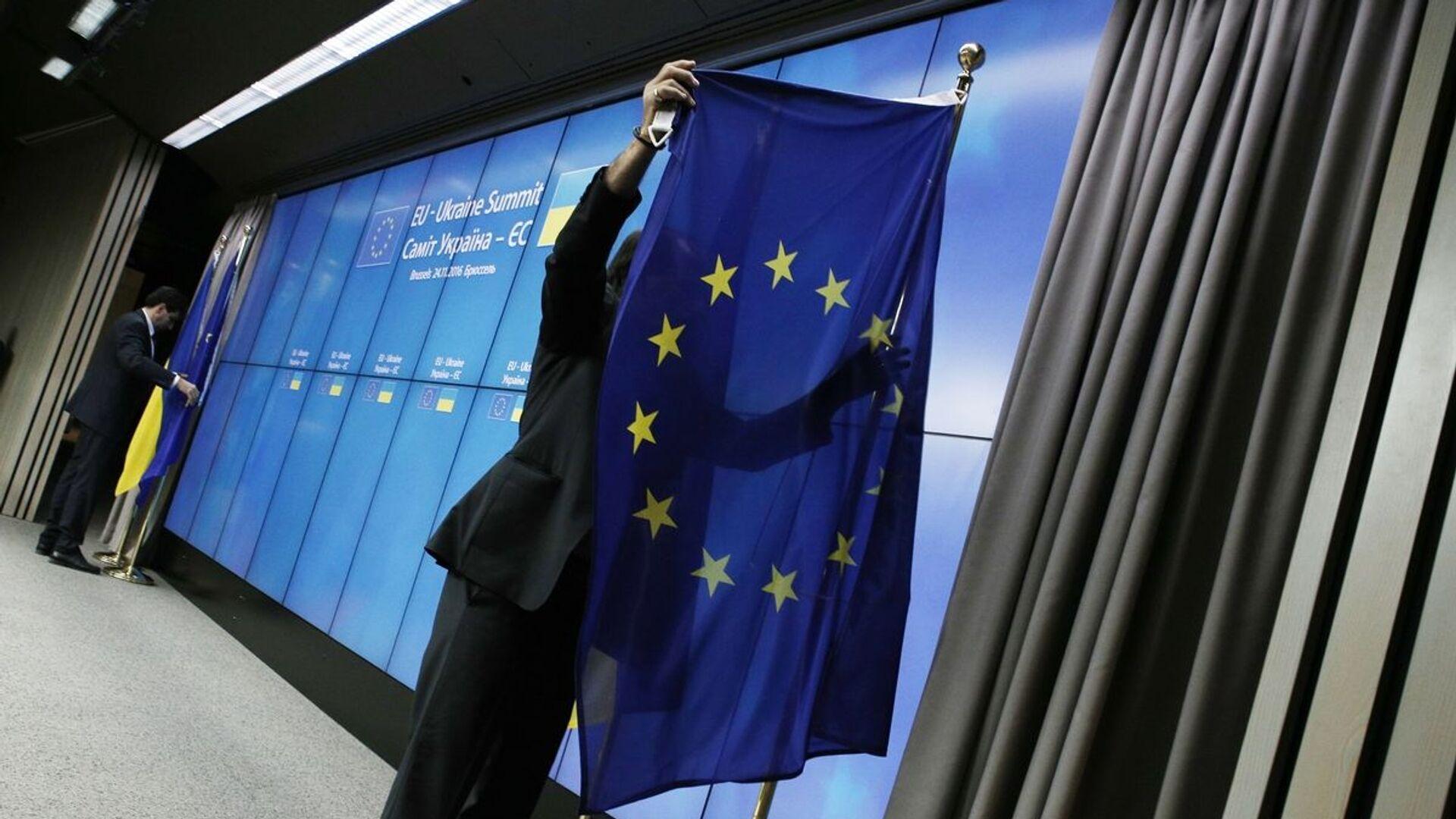 Η σημαία της Ευρωπαϊκής Ένωσης - Sputnik Ελλάδα, 1920, 28.09.2021