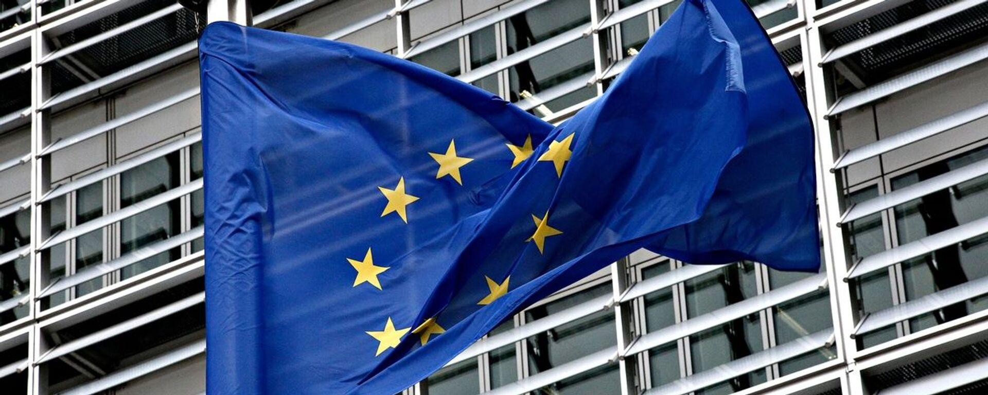 Η σημαία της Ευρωπαϊκής Ένωσης - Sputnik Ελλάδα, 1920, 17.09.2021