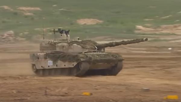 Το κινεζικό άρμα μάχης VT-5 - Sputnik Ελλάδα