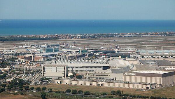Αεροδρόμιο Fiumicino στη Ρώμη - Sputnik Ελλάδα