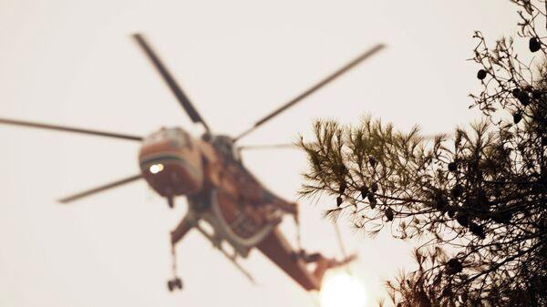 Πυρκαγιά στην Εύβοια - Sputnik Ελλάδα