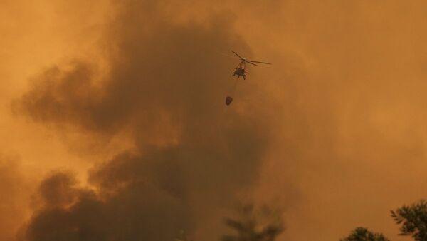 Ελικόπτερο της Πυροσβεστικής - Sputnik Ελλάδα