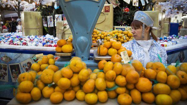 Πορτοκάλια σε αγορά - Sputnik Ελλάδα