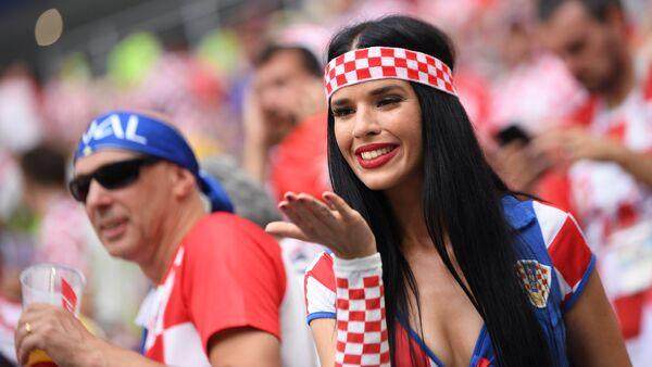 Ιβάνα Κνολ, η πιο σέξι φίλαθλος της Κροατίας στο Παγκόσμιο Κύπελλο 2018 - Sputnik Ελλάδα