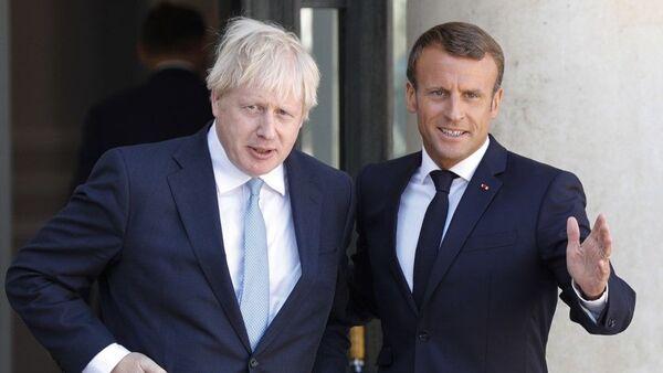 Συνάντηση Μακρόν - Τζόνσον στο Παρίσι, 22 Αυγούστου 2019 - Sputnik Ελλάδα