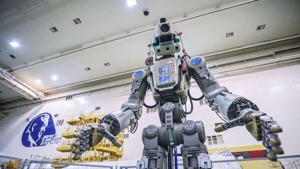 Το ρωσικό ρομπότ FEDOR - Sputnik Ελλάδα