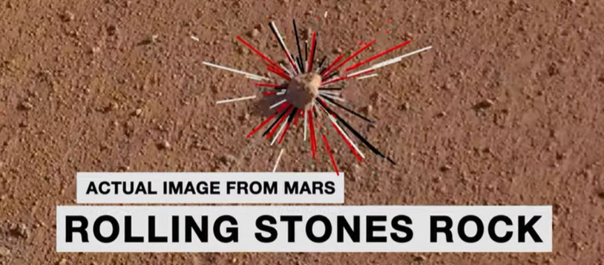 Διαστημική πέτρα στον Άρη πήρε το όνομα των Rolling Stones - Sputnik Ελλάδα, 1920, 25.08.2019