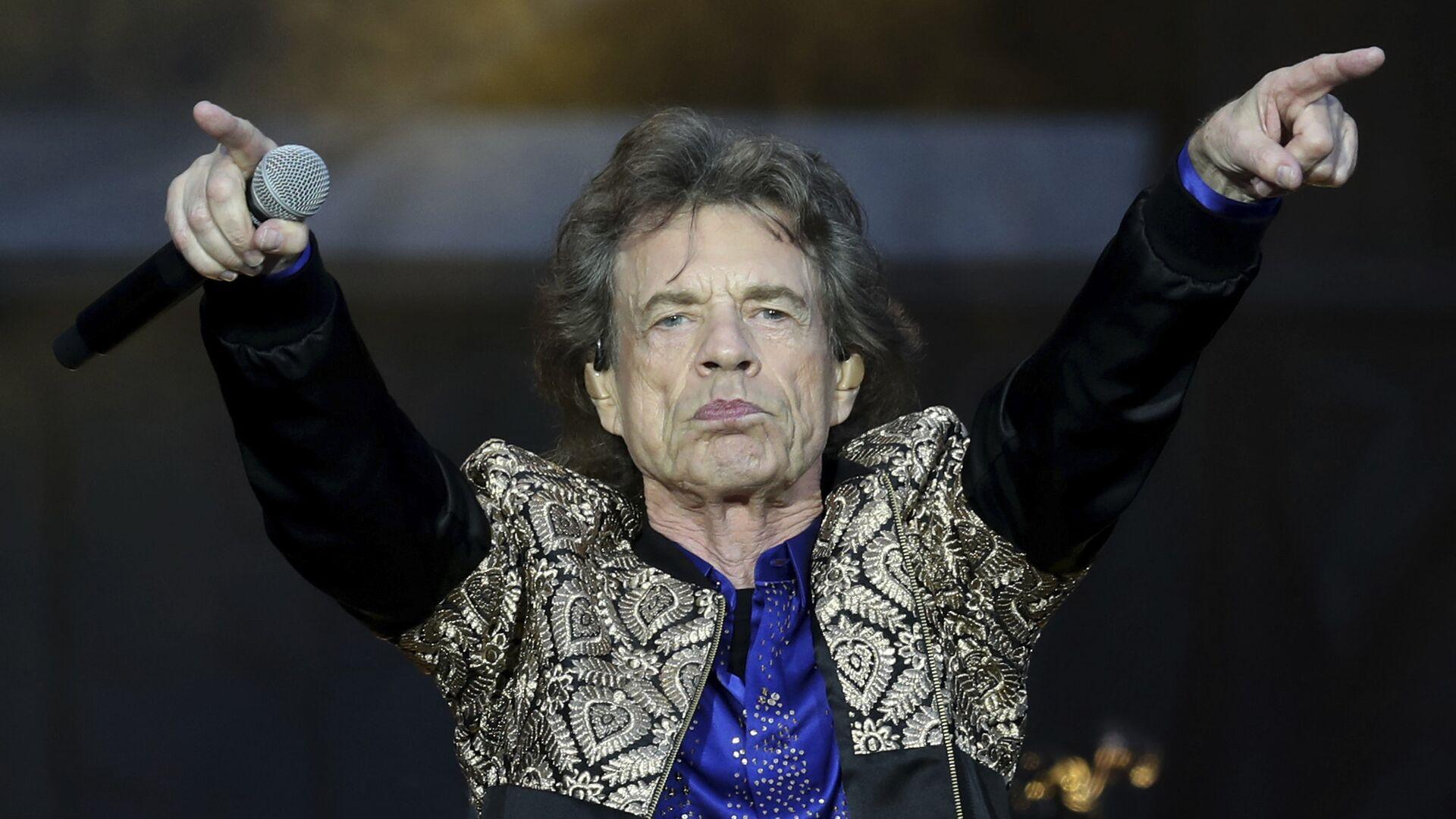 Ο τραγουδιστής των Rolling Stones Μικ Τζάγκερ - Sputnik Ελλάδα, 1920, 06.10.2021