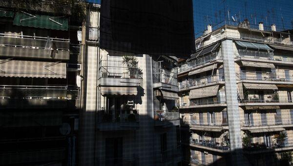 Πολυκατοικίες στο κέντρο της Θεσσαλονίκης - Sputnik Ελλάδα