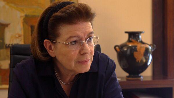 Η υπουργός Πολιτισμού, Λίνα Μενδώνη  - Sputnik Ελλάδα