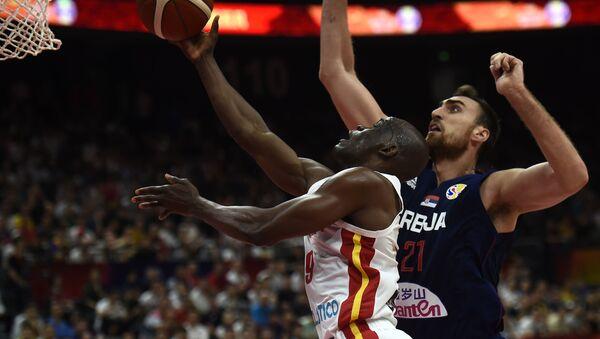 Φάση από τον αγώνα της Αγκόλας με τη Σερβία - Sputnik Ελλάδα