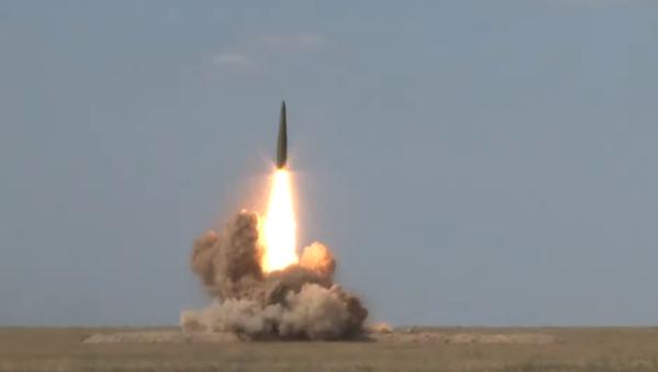 Δοκιμή του πυραυλικού συστήματος Iskander, Αύγουστος 2019 - Sputnik Ελλάδα