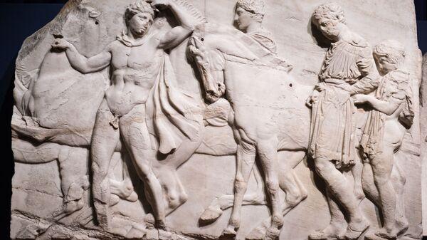 Τα Γλυπτά του Παρθενώνα στο Βρετανικό Μουσείο - Sputnik Ελλάδα