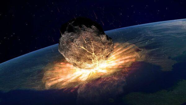 Αστεροειδής χτυπάει τη Γη - Sputnik Ελλάδα