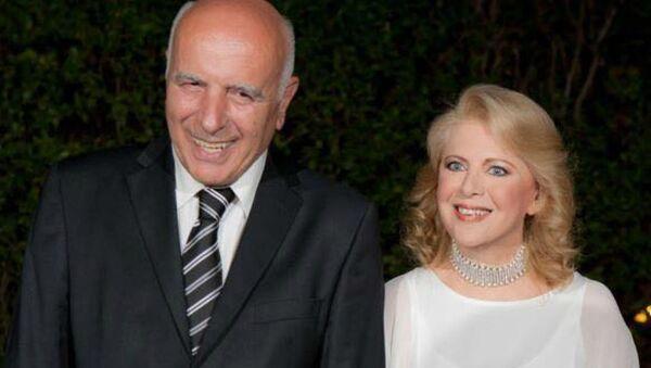 Ο γάμος της Έλενας Ακρίτα και του Γιώργου Κυρίτση - Sputnik Ελλάδα