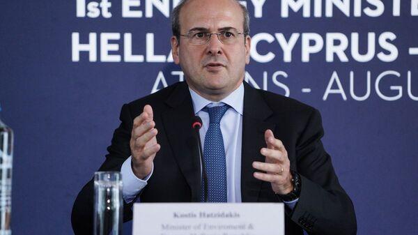 Ο υπουργός Ενέργειας Κωστής Χατζηδάκης - Sputnik Ελλάδα