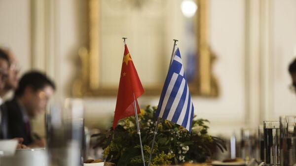 Σημαίες Κίνας- Ελλάδας - Sputnik Ελλάδα