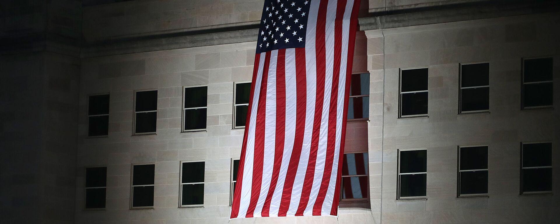 Αμερικανική σημαία στο Πεντάγωνο των ΗΠΑ - Sputnik Ελλάδα, 1920, 31.08.2021