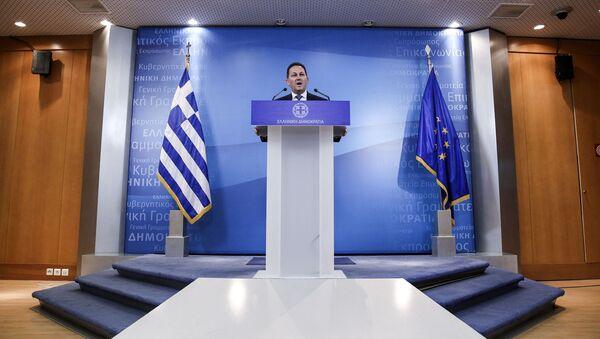 Ο Στέλιος Πέτσας. - Sputnik Ελλάδα