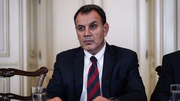 O υπουργός Εθνικής Άμυνας, Νίκος Παναγιωτόπουλος - Sputnik Ελλάδα