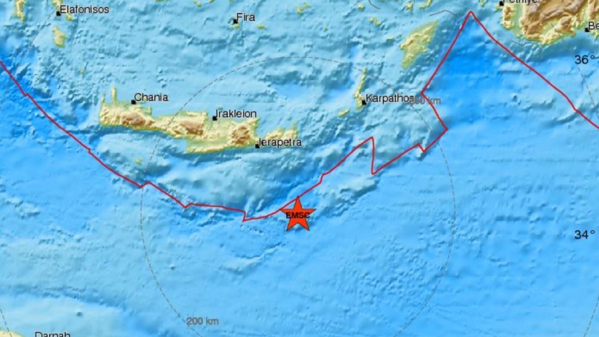 Σεισμός στην Κρήτη - Sputnik Ελλάδα, 1920, 14.10.2021