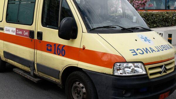 Ασθενοφόρο του ΕΚΑΒ - Sputnik Ελλάδα
