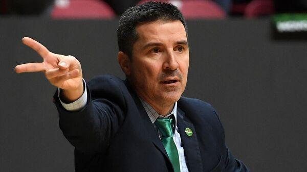 Ο προπονητής της Ούνικς Καζάν, Δημήτρης Πρίφτης - Sputnik Ελλάδα