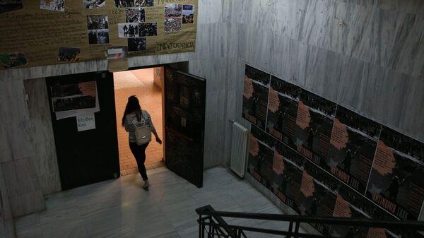 Φοιτήτρια σε Πανεπιστήμιο - Sputnik Ελλάδα