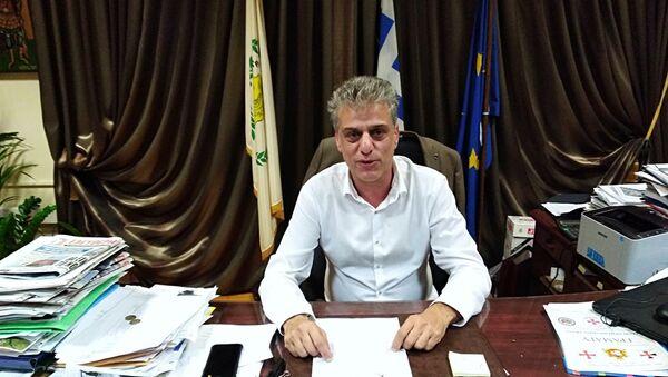 Ο δήμαρχος Ορεστιάδας Βασίλης Μαυρίδης - Sputnik Ελλάδα