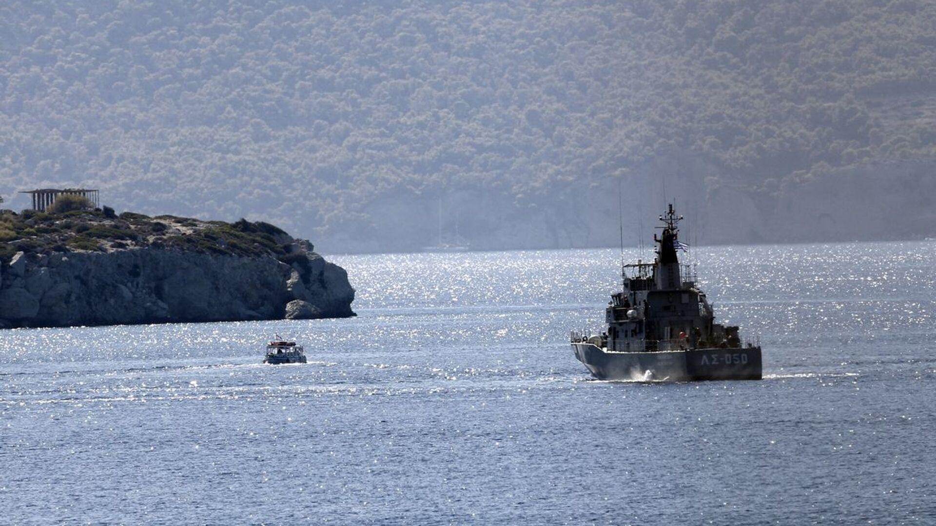 Σκάφος του Λιμενικού - Sputnik Ελλάδα, 1920, 01.10.2021
