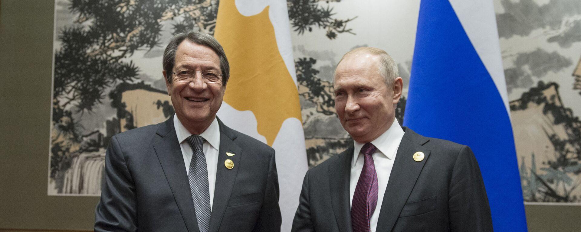 Ο Βλαντίμιρ Πούτιν και ο Νίκος Αναστασιάδης - Sputnik Ελλάδα, 1920, 30.09.2021