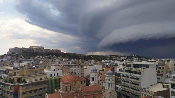 Καταιγίδα στην Αθήνα - Sputnik Ελλάδα
