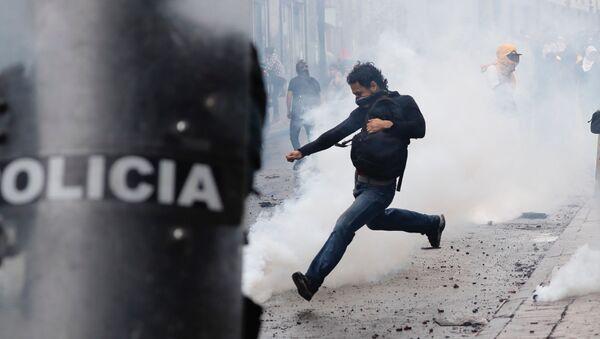 Αντικυβερνητικές διαδηλώσεις στο Εκουαδόρ - Sputnik Ελλάδα