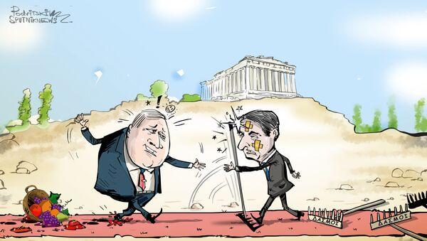 Αμερικανικοί δασμοί σε ελληνικά προϊόντα - Sputnik Ελλάδα