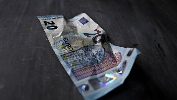 Χαρτονόμισμα των 20 ευρώ - Sputnik Ελλάδα