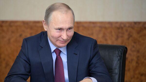 Ο Ρώσος πρόεδρος Βλαντίμιρ Πούτιν - Sputnik Ελλάδα