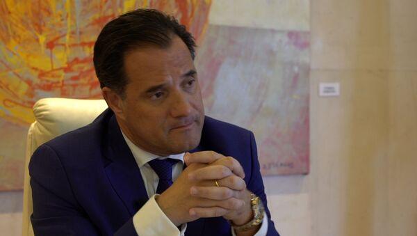Άδωνις Γεωργιάδης, Υπουργός Ανάπτυξης και Επενδύσεων - Sputnik Ελλάδα
